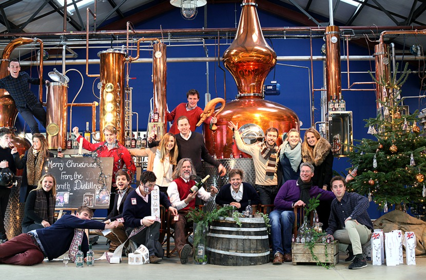 The Sipsmith Class of Christmas 2014