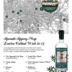 London Cocktail Week 2015 | Sipping Map